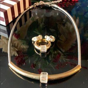 Henri Bendel Jewelry - Ring, earrings necklace